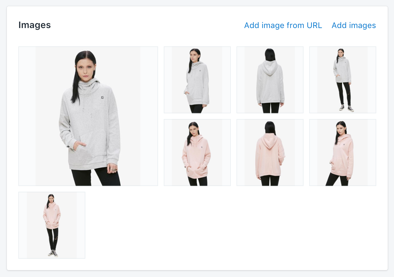 Shopify Admin Images